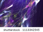 abstract polygonal space on... | Shutterstock . vector #1113342545
