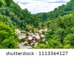 mae kampong located in the...   Shutterstock . vector #1113364127