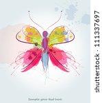 butterfly | Shutterstock .eps vector #111337697