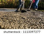 construction workers are... | Shutterstock . vector #1113397277