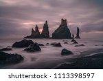 Vik Rock Formation In Iceland