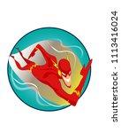 vector illustration of cartoon...   Shutterstock .eps vector #1113416024