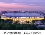 moscow  russia  june 14  2018.... | Shutterstock . vector #1113445904