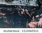 grungy artistic metal surface ... | Shutterstock . vector #1113465311