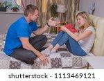 family relationships. portrait...   Shutterstock . vector #1113469121