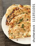 indian naan bread made with... | Shutterstock . vector #1113511031