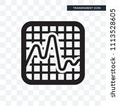 smooth line chart vector icon... | Shutterstock .eps vector #1113528605
