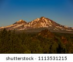 three sisters wilderness ... | Shutterstock . vector #1113531215