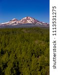 three sisters wilderness ... | Shutterstock . vector #1113531275