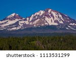 three sisters wilderness ... | Shutterstock . vector #1113531299
