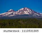 three sisters wilderness ... | Shutterstock . vector #1113531305