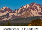 three sisters wilderness ... | Shutterstock . vector #1113531329