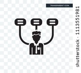 boss vector icon isolated on... | Shutterstock .eps vector #1113551981