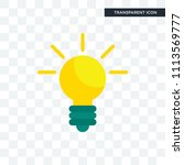 idea vector icon isolated on... | Shutterstock .eps vector #1113569777