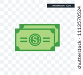 dollar bill vector icon... | Shutterstock .eps vector #1113570524