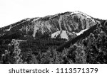 Small photo of USA, Nevada, Washoe County, Reno: Slide Mountain home of Mt. Rose ski tahoe resort and slope. 9,702 ft