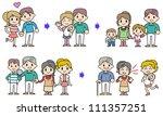 family circulation | Shutterstock . vector #111357251