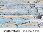 rough and shabby wood pattern...   Shutterstock . vector #1113575441