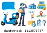 fast address search for a... | Shutterstock .eps vector #1113579767