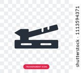 saw vector icon isolated on... | Shutterstock .eps vector #1113594371