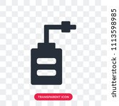 saw vector icon isolated on... | Shutterstock .eps vector #1113598985