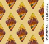 seamless background of... | Shutterstock .eps vector #1113603119