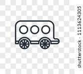 carriage vector icon isolated... | Shutterstock .eps vector #1113624305