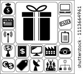 set of 17 business high...   Shutterstock .eps vector #1113664961