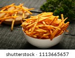 delicious snack food   spiced... | Shutterstock . vector #1113665657