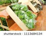 organic vegetables produce | Shutterstock . vector #1113684134