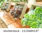 organic vegetables produce | Shutterstock . vector #1113684137