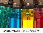 colorful plastic gas lighter....   Shutterstock . vector #1113701375