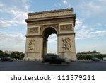 arc de triomphe  paris | Shutterstock . vector #111379211