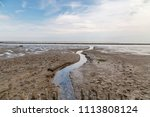 View To Wadden Sea At Low Tide...