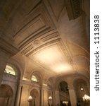 Lobby Of New York Public Library