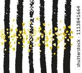 gold glitter confetti with... | Shutterstock .eps vector #1113841664