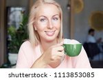 cropped shot of good looking... | Shutterstock . vector #1113853085