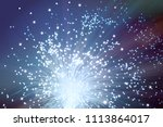 futuristic technological... | Shutterstock . vector #1113864017