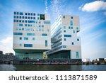 amsterdam  the netherlands  ... | Shutterstock . vector #1113871589
