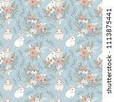 elegant background seamless... | Shutterstock . vector #1113875441