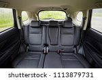leather black seats in the car... | Shutterstock . vector #1113879731
