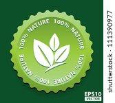 eps10 vector  100 percent...   Shutterstock .eps vector #111390977