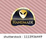 gold emblem or shiny emblem...   Shutterstock .eps vector #1113936449