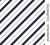 minimal lines vector seamless... | Shutterstock . vector #1113960701
