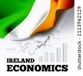 ireland economics vector... | Shutterstock .eps vector #1113962129