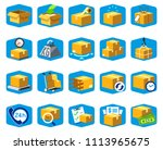 shipping services icon. ... | Shutterstock .eps vector #1113965675