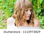 horizontal portrait of young... | Shutterstock . vector #1113973829