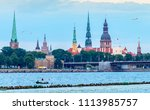 view on historical center of... | Shutterstock . vector #1113985757