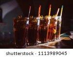 beautiful  golden row of... | Shutterstock . vector #1113989045