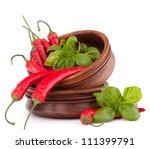 hot red chili or chilli pepper...   Shutterstock . vector #111399791